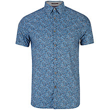 Buy Ted Baker Lelant Leopard Print Shirt Online at johnlewis.com