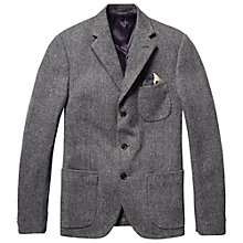 Buy Scotch & Soda Wool Blazer, Grey Online at johnlewis.com