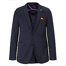 Buy Scotch & Soda Classic Satin Blazer, Night Online at johnlewis.com