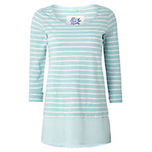 Buy White Stuff Otto Stripe Top, Blue Online at johnlewis.com