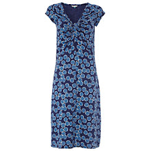 Buy White Stuff Go Crazy Spot Dress, Cobalt Online at johnlewis.com