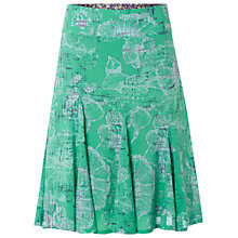 Buy White Stuff Jolie Flower Skirt, Kiwi Online at johnlewis.com