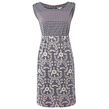 Buy White Stuff Rippling Water Dress, Grey Online at johnlewis.com
