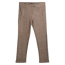 Buy Violeta by Mango Flecked Trousers, Khaki Online at johnlewis.com
