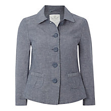 Buy White Stuff Hanokotaba Jacket, Smoky Blue Online at johnlewis.com