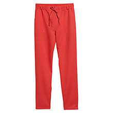 Buy Violeta by Mango Flowy Linen Blend Trousers Online at johnlewis.com