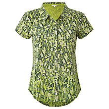 Buy White Stuff Florence Jersey Shirt, Green Online at johnlewis.com