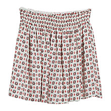 Buy Mango Printed Flared Skirt, Cream/Multi Online at johnlewis.com
