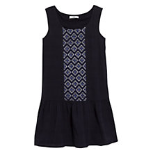 Buy Mango Embroidered Panel Dress Online at johnlewis.com