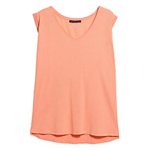 Buy Violeta by Mango Textured T-Shirt Online at johnlewis.com