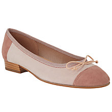 Buy John Lewis Ariel Colour Contrast Suede Pumps Online at johnlewis.com
