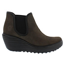 Buy Fly Yat Leather Wedge Ankle Boots Online at johnlewis.com