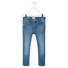 Buy Mango Kids Boys' Light Wash Skinny Jeans Online at johnlewis.com