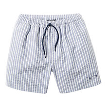 Buy Mango Kids Boys' Striped Swimming Shorts Online at johnlewis.com