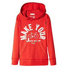 Buy Mango Kids Boys' Adventure Hoodie Online at johnlewis.com