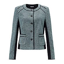Buy Gerry Weber Boucle Jacket, Black/Green Online at johnlewis.com