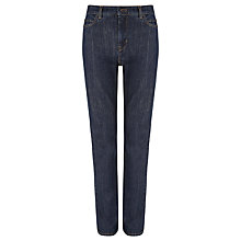 Buy Weekend by MaxMara Slim High-waist Jeans, Dark Blue Online at johnlewis.com