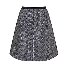 Buy Weekend by MaxMara Canga Print Skirt, Ultramarine Online at johnlewis.com