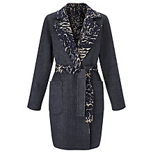 Buy Weekend by MaxMara Reversible Coat, Midnight Blue Online at johnlewis.com