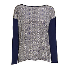 Buy Weekend by MaxMara Daisy Top, Ultramarine Online at johnlewis.com