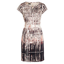 Buy Gerry Weber Digital Print Dress, Beige/Pink Online at johnlewis.com