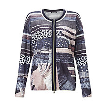 Buy Gerry Weber Mesh Jacket, Navy Online at johnlewis.com