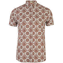 Buy Ted Baker Bcrumbs Paisley Print Shirt Online at johnlewis.com