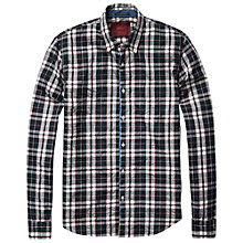 Buy Scotch & Soda Bold Check Shirt, Green Online at johnlewis.com