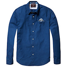 Buy Scotch & Soda Poplin Shirt, Indigo Online at johnlewis.com