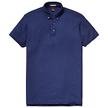Buy Scotch & Soda Bold Spot Print Polo Shirt, Navy Online at johnlewis.com