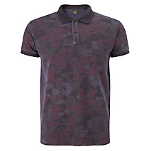 Buy Scotch & Soda Tonal Camo Print Polo Shirt, Multi Online at johnlewis.com