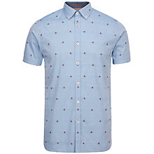 Buy Ted Baker The Vibe Floral Fil Coupe Shirt Online at johnlewis.com