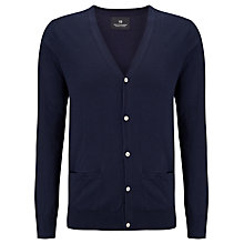 Buy Scotch & Soda Fine Knit Classic Cardigan, Night Online at johnlewis.com
