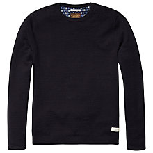 Buy Scotch & Soda Patterned Sweatshirt, Night Online at johnlewis.com
