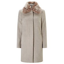 Buy John Lewis Jenny Fur Collar Coat Online at johnlewis.com