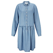 Buy Collection WEEKEND by John Lewis Drop Waist Dress, Mid Blue Online at johnlewis.com