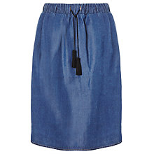 Buy Collection WEEKEND by John Lewis Tassel Detail Skirt, Indigo Online at johnlewis.com