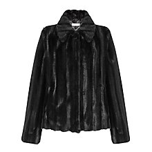 Buy John Lewis Leona Short Faux Fur Coat Online at johnlewis.com