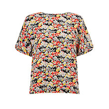 Buy Collection WEEKEND by John Lewis Ditsy Floral Print Shell Top, Multi Online at johnlewis.com