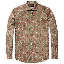 Buy Scotch & Soda Paisley Print Shirt, Multi Online at johnlewis.com
