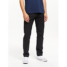 Buy Scotch & Soda Stuart Peached Twill Chinos, Night Online at johnlewis.com