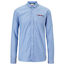 Buy Scotch & Soda Stripe Shirt, Blue Online at johnlewis.com