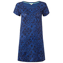 Buy White Stuff Ocean Splash Linen Tunic Dress, Cobalt Online at johnlewis.com