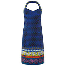 Buy White Stuff Pineapple Island Beach Dress, Azure Blue Online at johnlewis.com