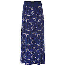 Buy White Stuff Tribal Jersey Maxi Skirt, Cobalt Online at johnlewis.com