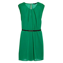 Buy Mango Contrast Belt Dress Online at johnlewis.com