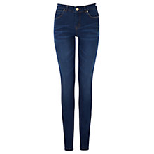 Buy Oasis Cherry Manhattan Wash Skinny Jeans, Denim Online at johnlewis.com