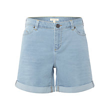 Buy White Stuff Betty Boyfriend Shorts, Light Denim Online at johnlewis.com