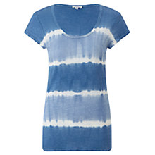 Buy Jigsaw Linen Tie Dye T-Shirt Online at johnlewis.com