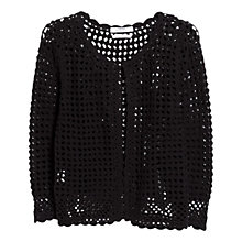 Buy Mango Cotton Crochet Cardigan Online at johnlewis.com